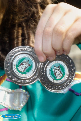 Newry Musical Feis Medals.