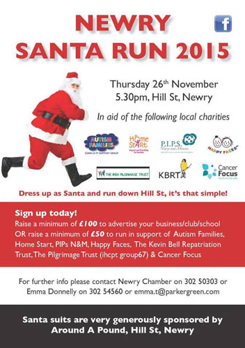 Join in the fun on Thursday in Hill Street in Newry.