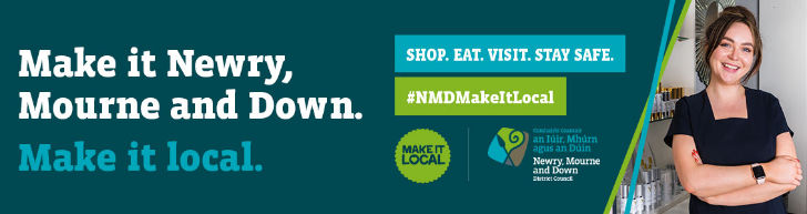 Newry, Mourne and Down District Council shop local leaderboard July 2021