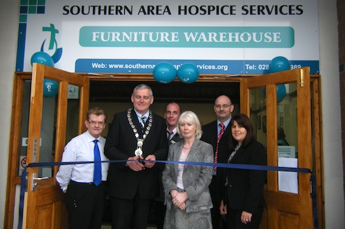 Hospice Furniture Warehouse Opens