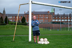 Cathal Murray, Head of PE, St Colman's College. Photograph: Columba O'Hare/ Newry.ie