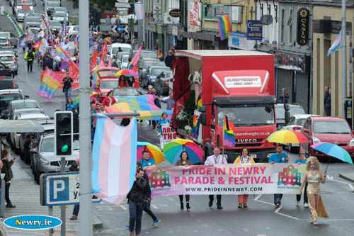 The 2016 Pride in Newry festival. Photograph: Columba O'Hare