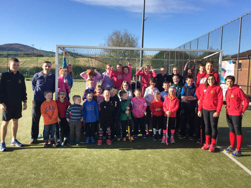 Join Newry Hockey Club for some junior hockey training.