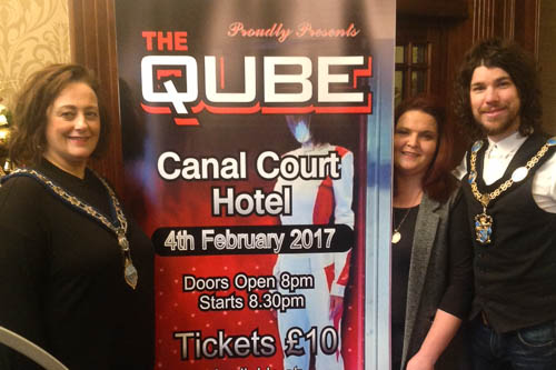 Newry ie cuan mhuire launch qube fundraising night